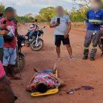 Assaltantes atiram no pescoço de funcionário do Frigotil para roubar a moto em Timon