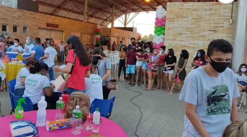 Campo Maior aplica D1 em adolescentes de 12 a 16 anos