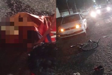 Ciclista de 75 anos morre após ser atropelado por carro em Teresina