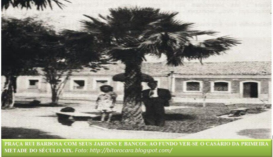 HISTÓRIA DA PRAÇA RUI BARBOSA por Celson Chaves 4