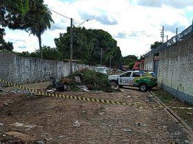 Homem é preso em Teresina suspeito de jogar corpo de morador de rua em caçamba de lixo