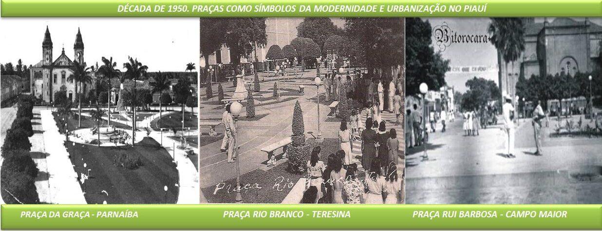 Praças na Década de 1950